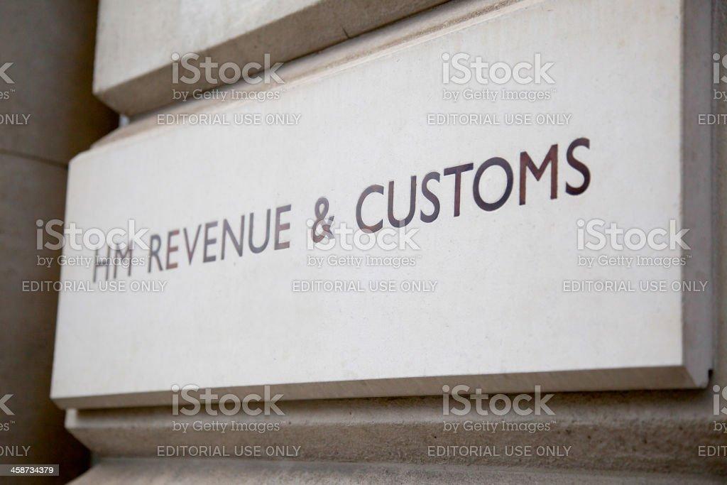HMRC office - London royalty-free stock photo