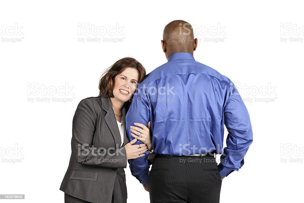 Office Lovers royalty-free stock photo