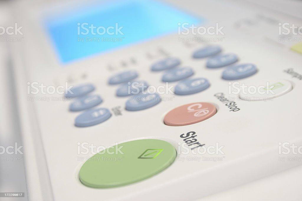 Office Machine royalty-free stock photo
