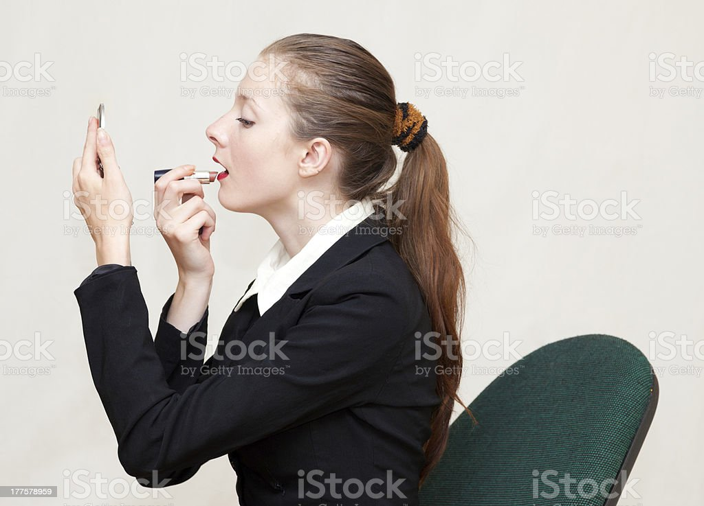 Office Makeup royalty-free stock photo
