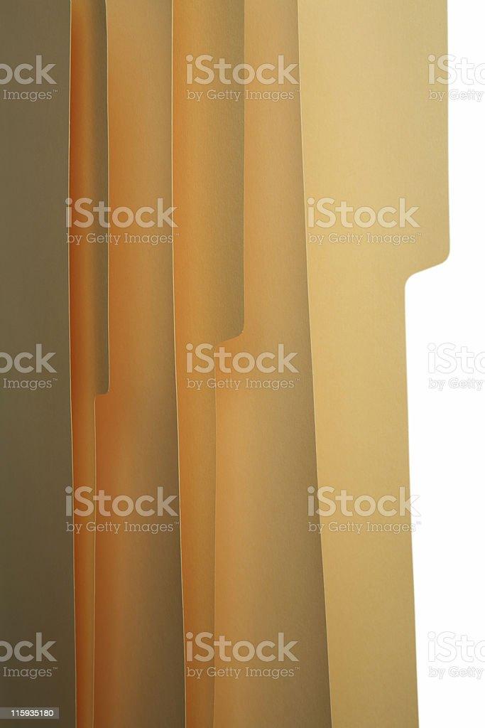 Office manila folder royalty-free stock photo