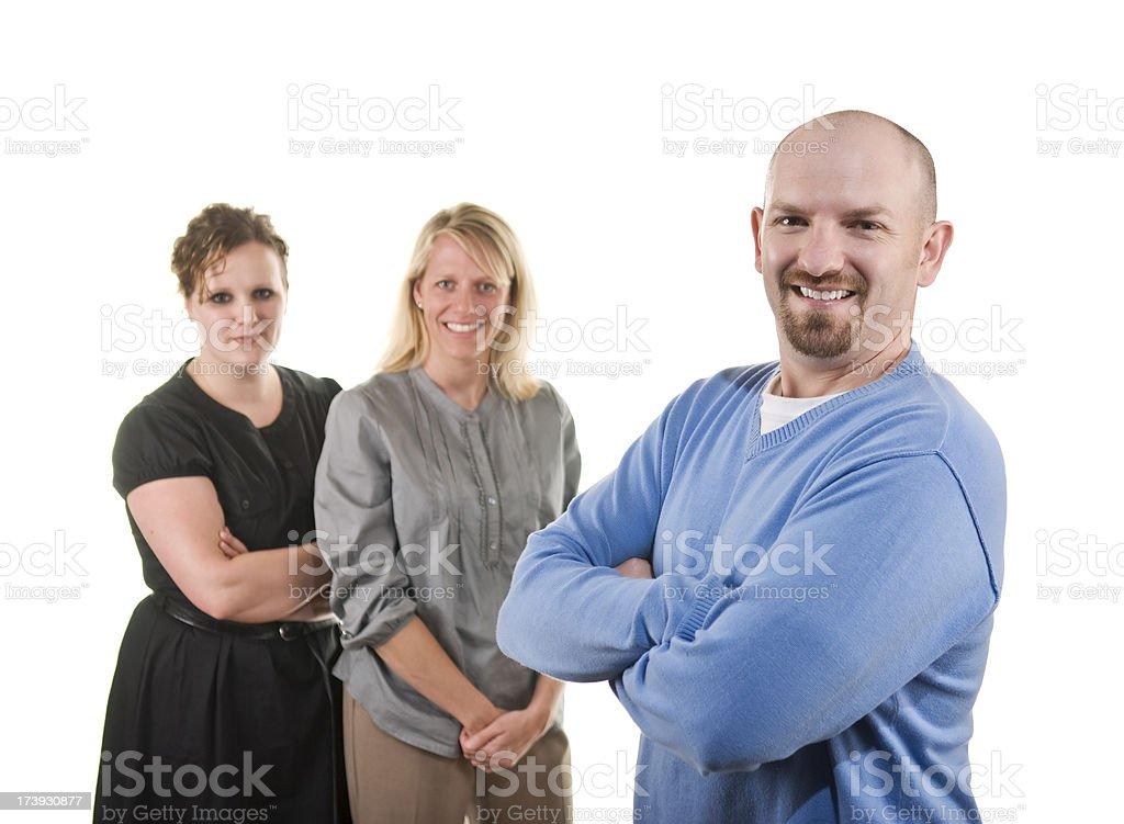 Büro-mates Lizenzfreies stock-foto