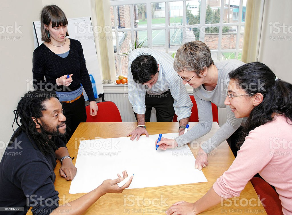 Office Meeting royalty-free stock photo
