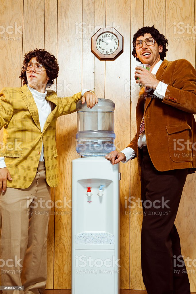 Office Nerds stock photo