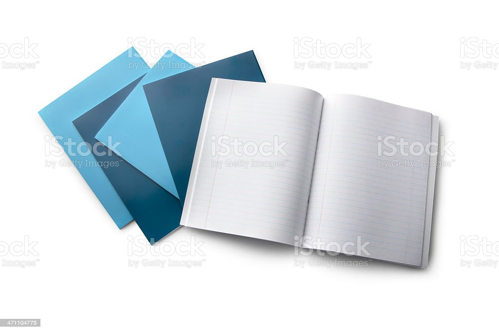 Office: Notebook royalty-free stock photo