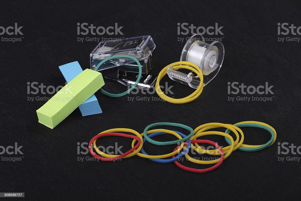 office objects royalty-free stock photo