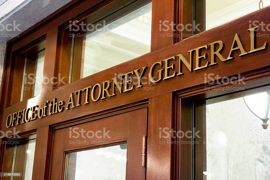 Office of the Attorney General, Idaho State Capitol stock photo