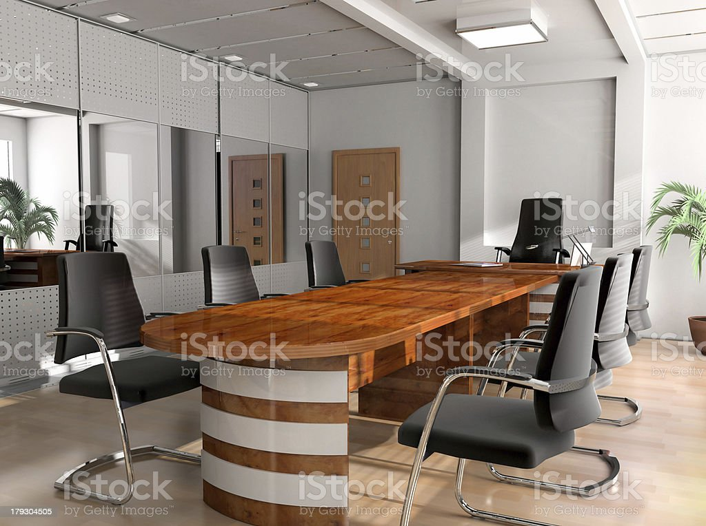 Office of the chief royalty-free stock photo