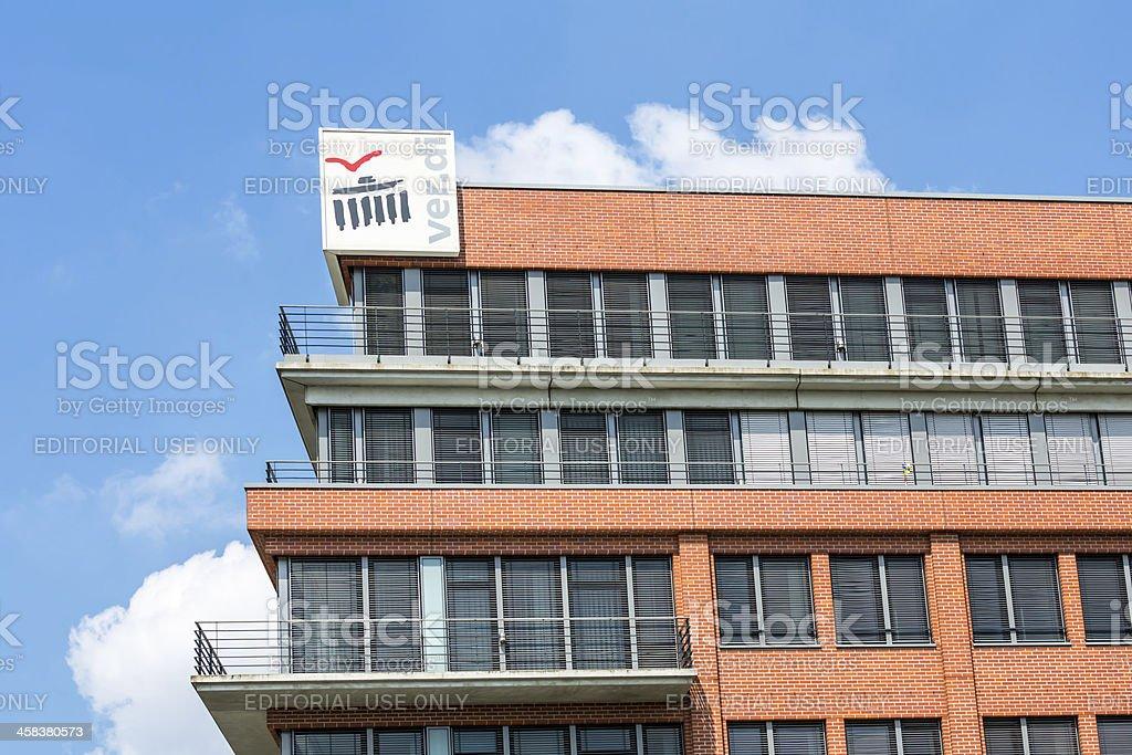 Office of the labor union Verdi in Berlin. stock photo