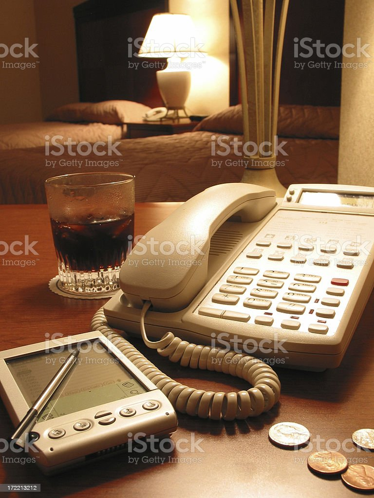 Office On the Go royalty-free stock photo