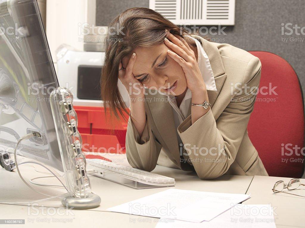 Office Overwork stock photo