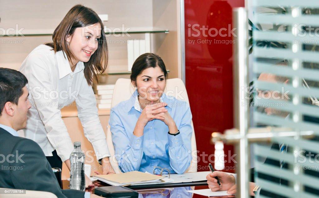Office paperwork analysis stock photo
