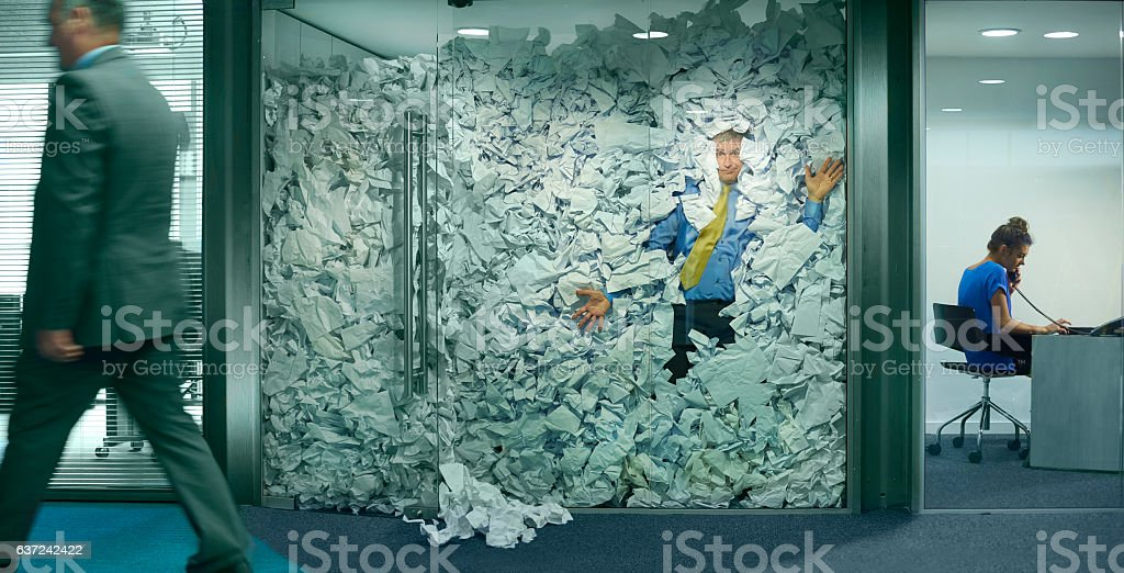 office paperwork stock photo