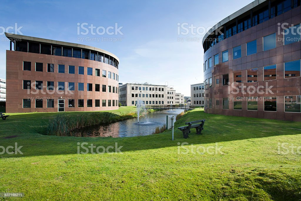Office park  and environment stock photo