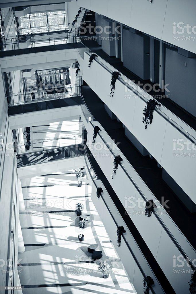 Office Park- Lobby royalty-free stock photo