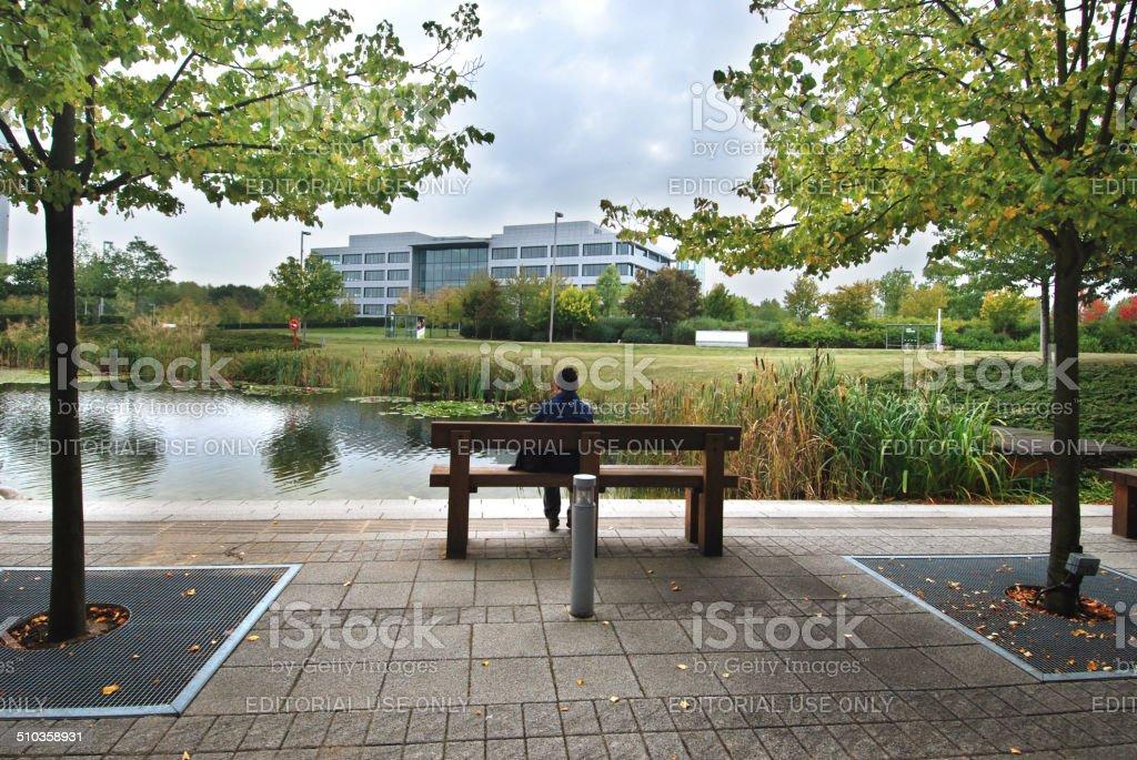 Office park stock photo