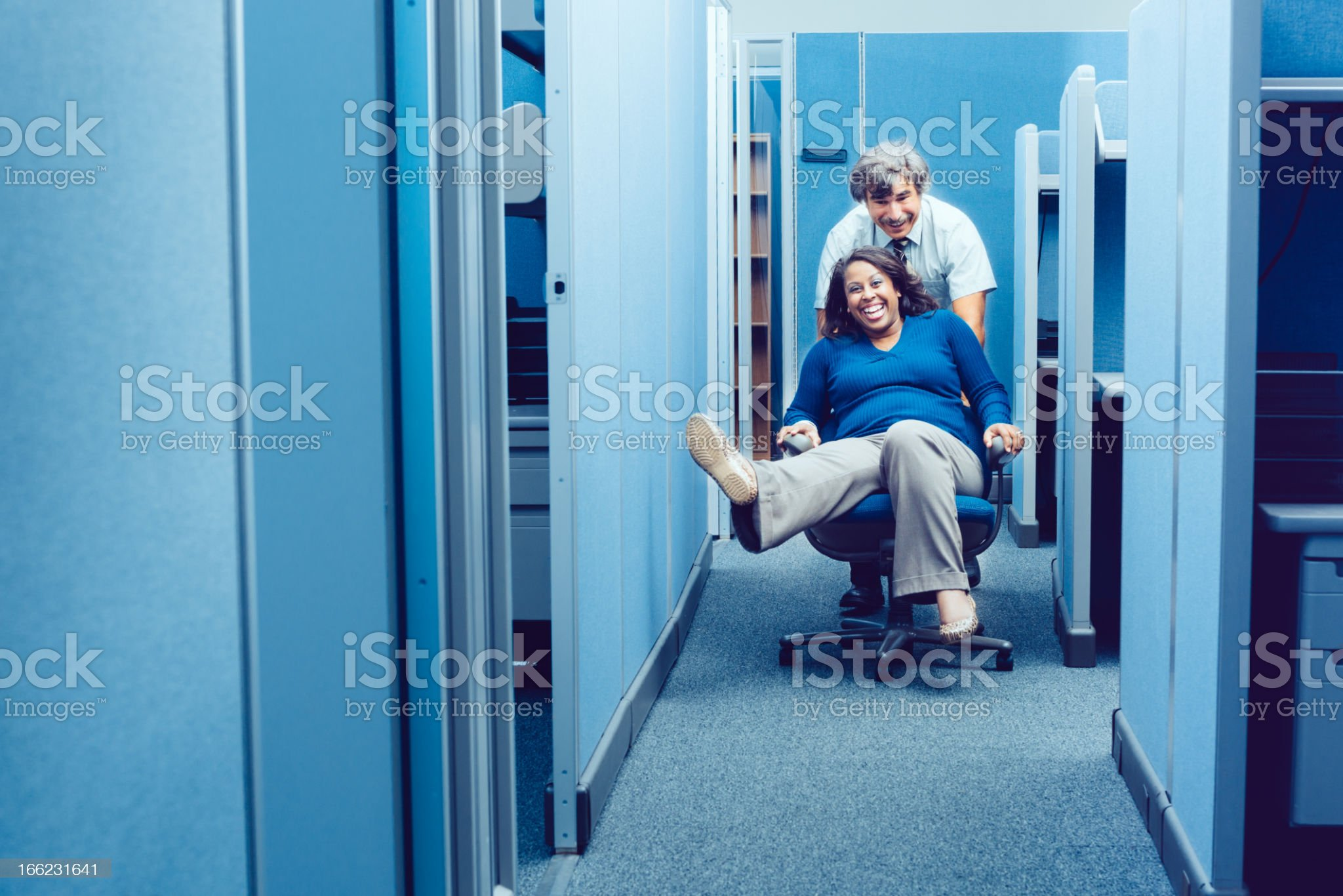 Office Party royalty-free stock photo