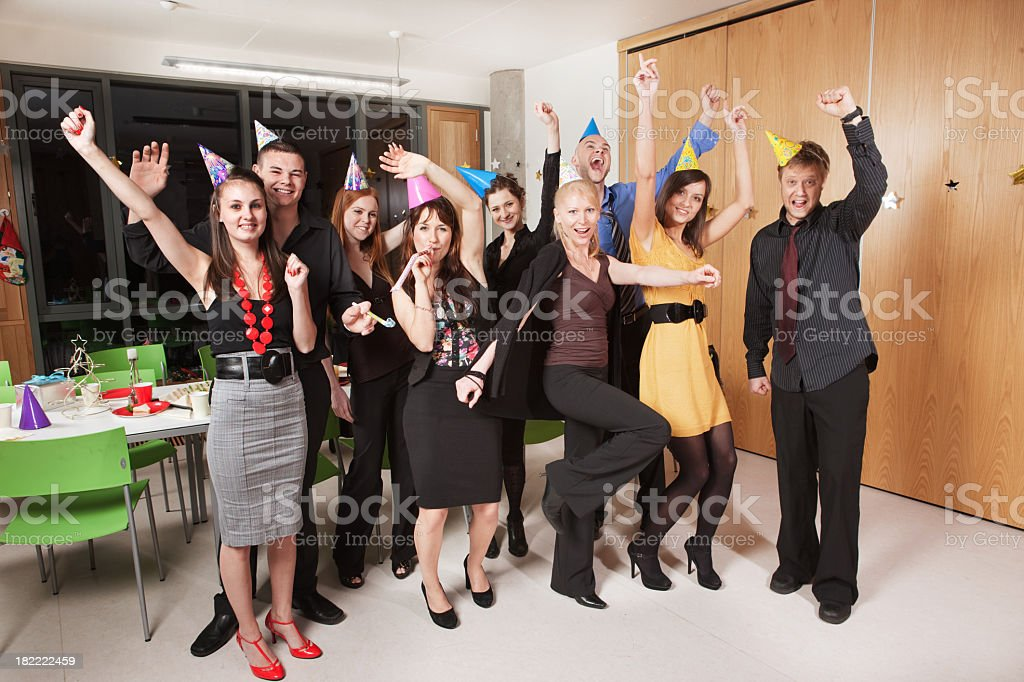 Office Party stock photo