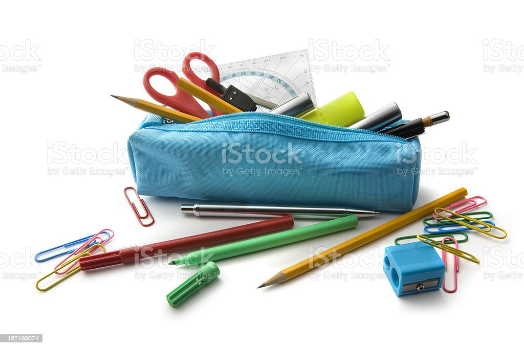 Office: Pencil Case stock photo