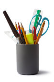 Office: Pencil Holder with Contents