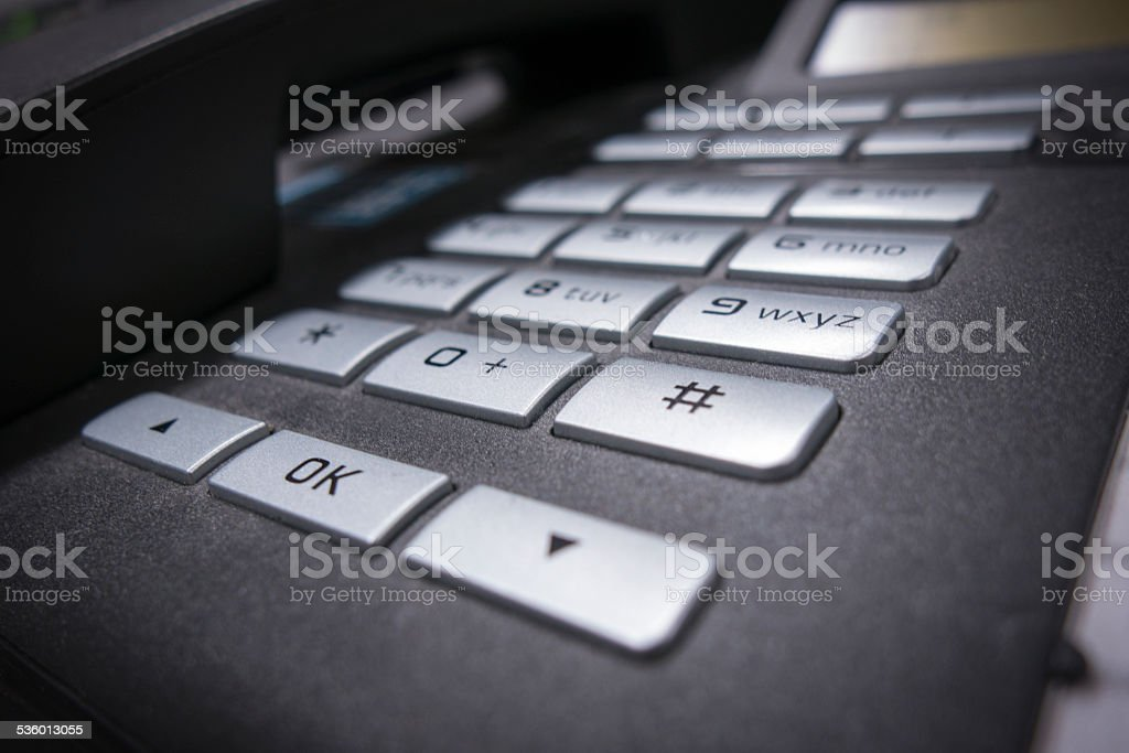 Office Phone stock photo