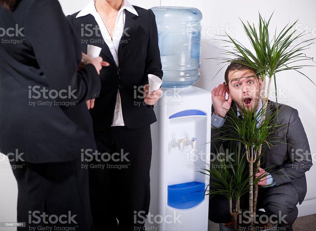 office politics royalty-free stock photo