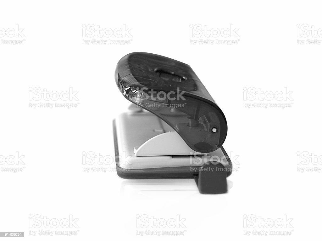 office puncher royalty-free stock photo