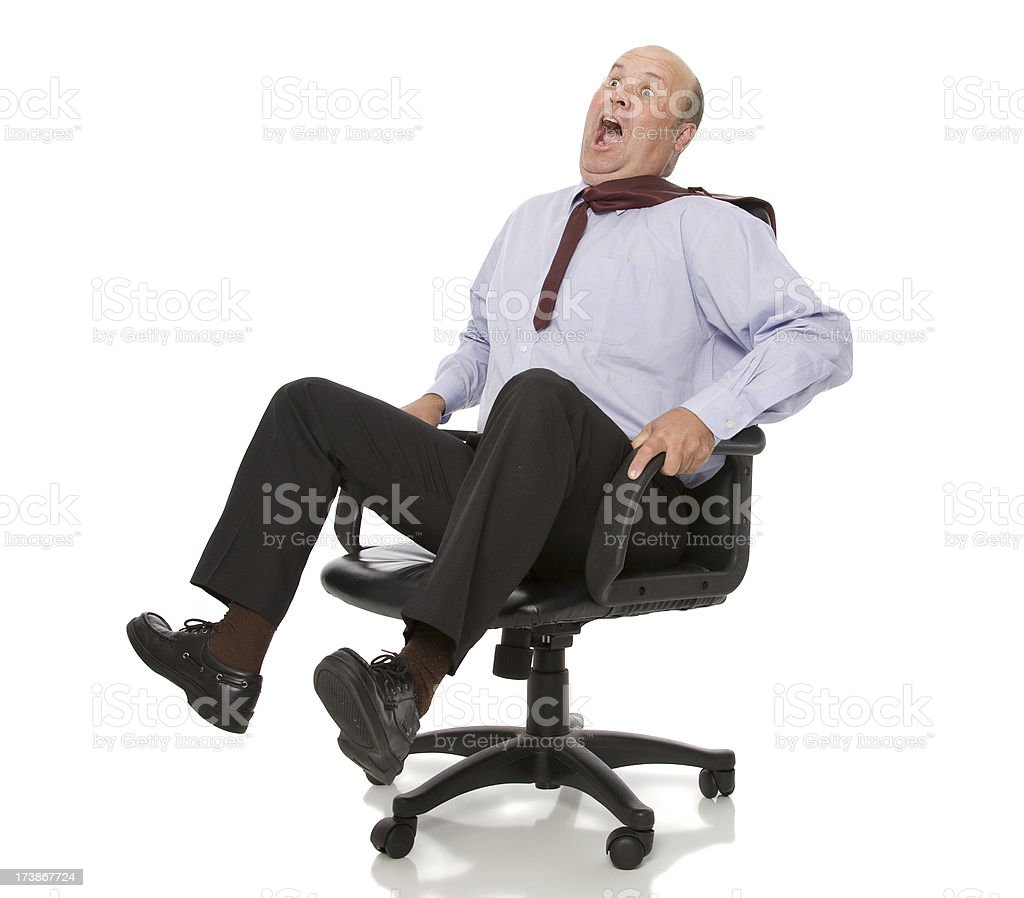 Office Races royalty-free stock photo