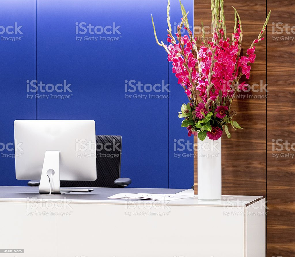 Office Reception Desk royalty-free stock photo