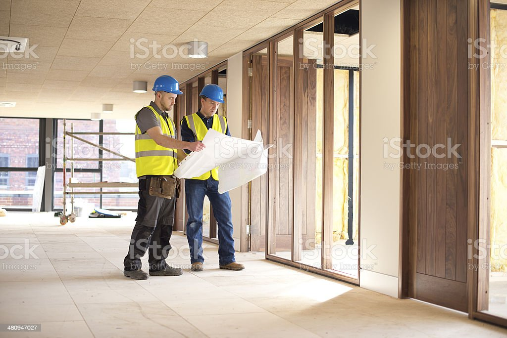 office refurbishment royalty-free stock photo