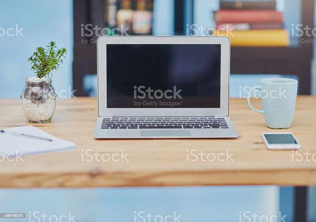 Office requirements stock photo