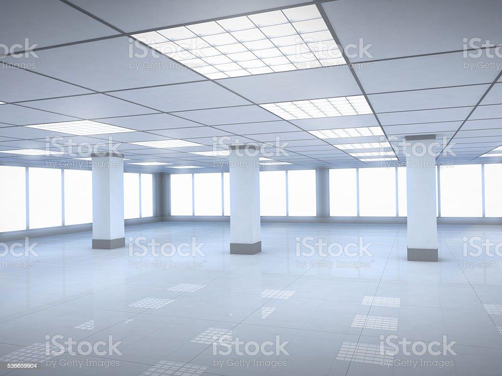 Office room empty stock photo