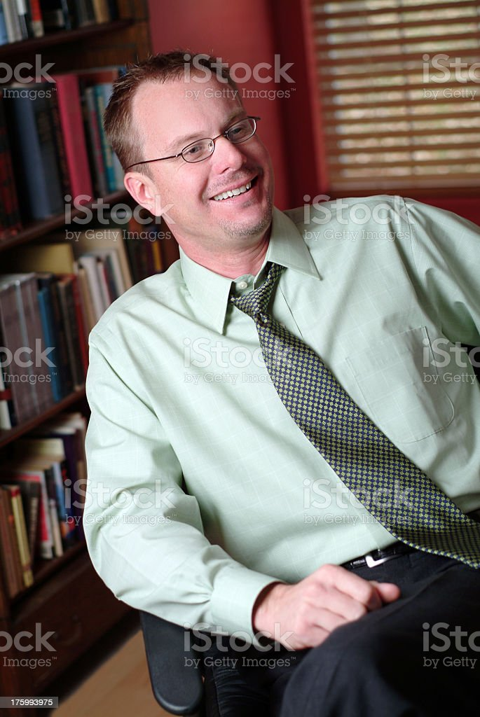 office satisfied royalty-free stock photo