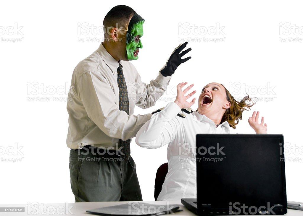 Office Scare stock photo