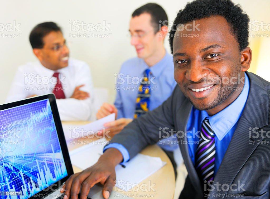 Office Scene royalty-free stock photo