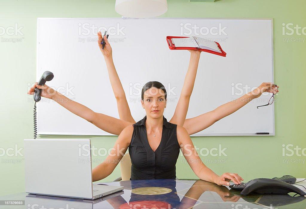 Office Shiva stock photo