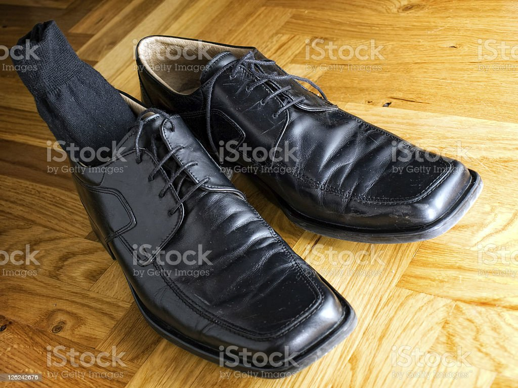 Office shoes royalty-free stock photo