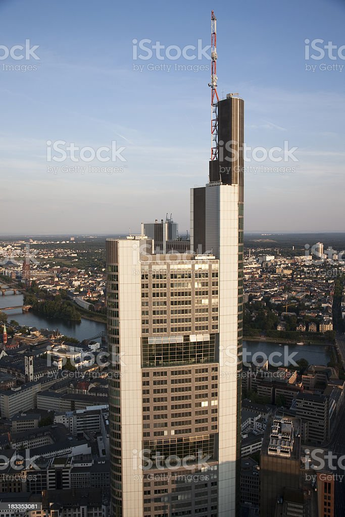 Office Skyscraper, Frankfurt/Main, Germany royalty-free stock photo