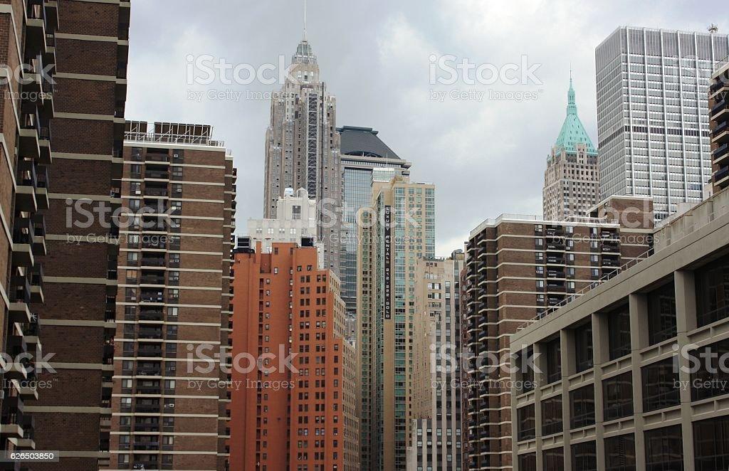 office skyscraper stock photo