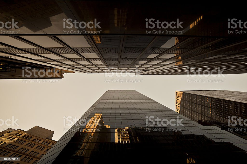 Office Skyscrapers royalty-free stock photo