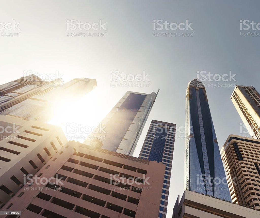 Office skysraper in Dubai royalty-free stock photo