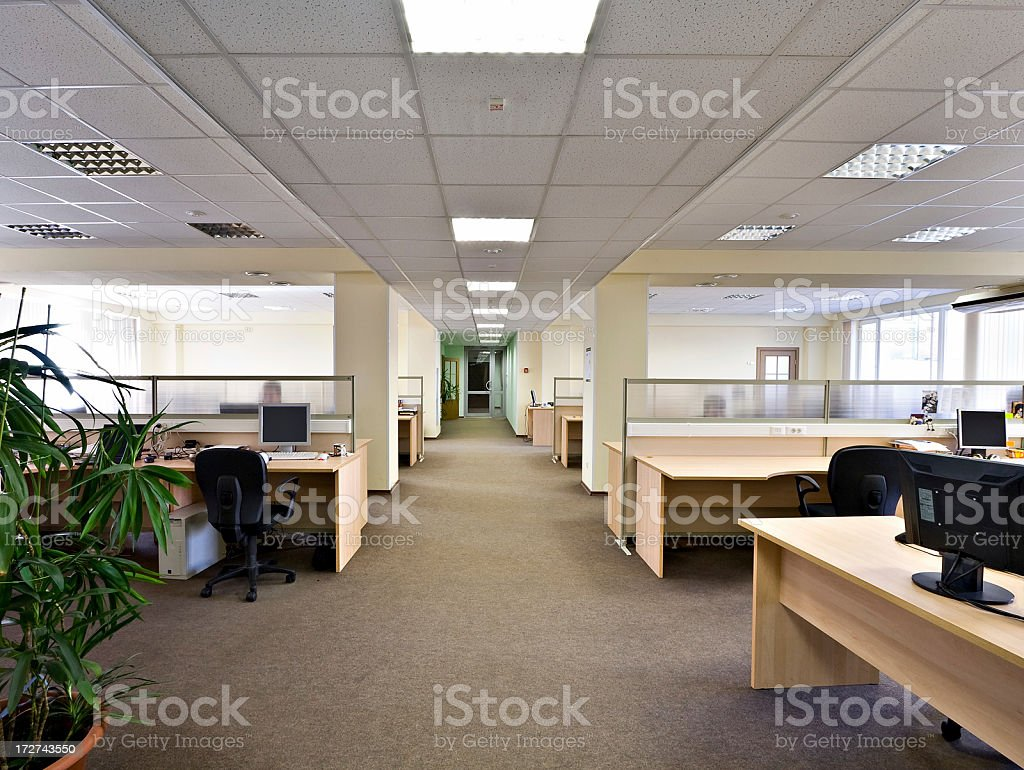Office space stock photo