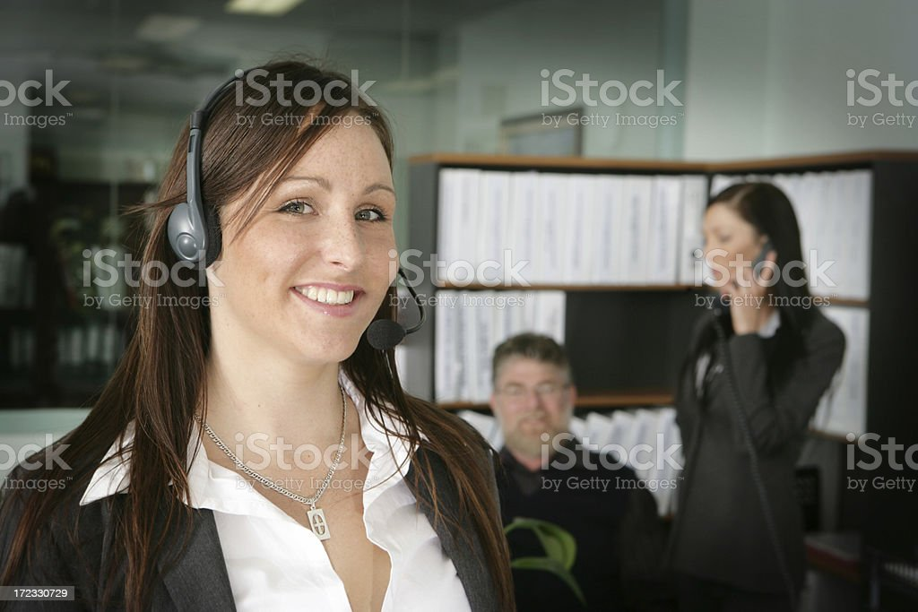 Office Staff royalty-free stock photo