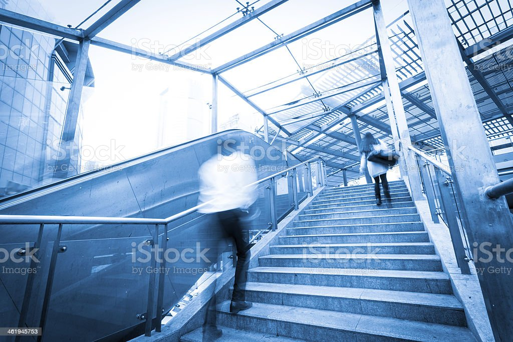 office stairs stock photo