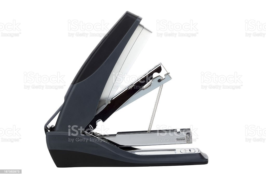 Office stapler royalty-free stock photo