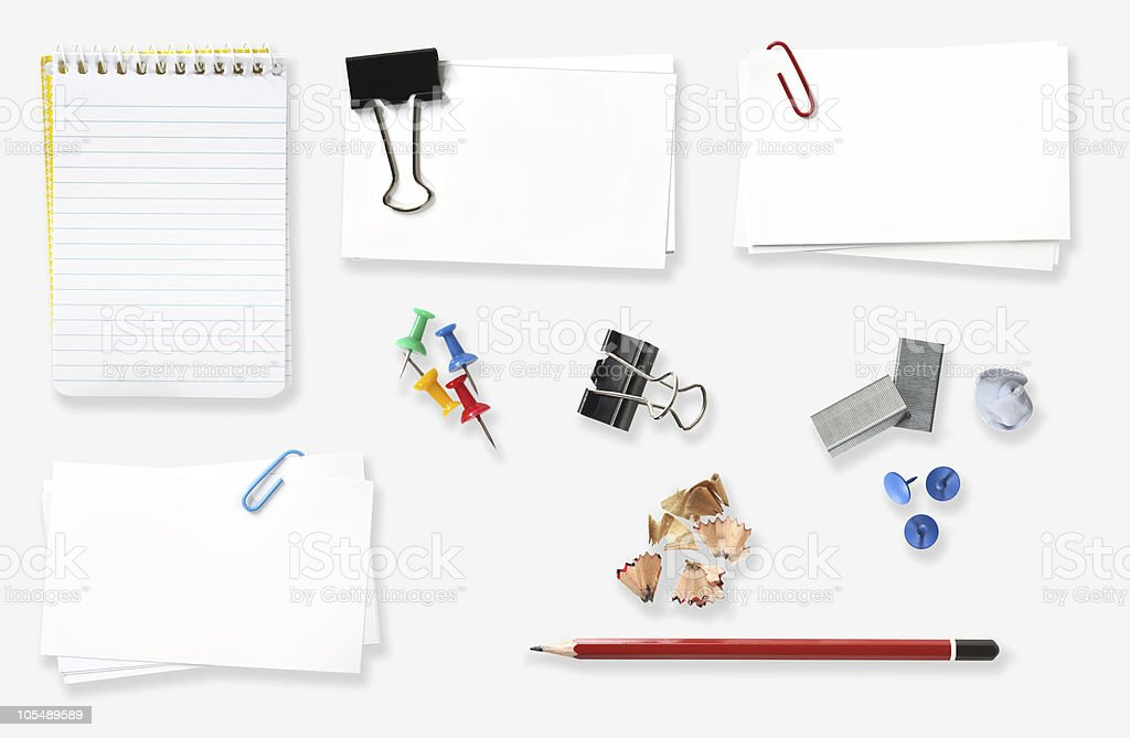 Office Stationery royalty-free stock photo