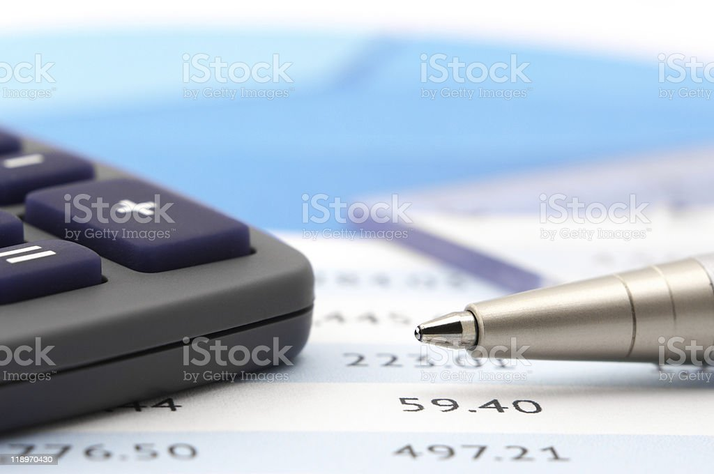 Office still life close-up royalty-free stock photo