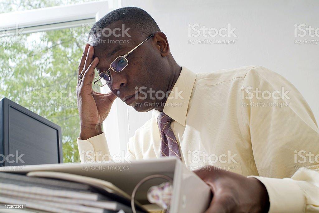 Office Stress Series stock photo