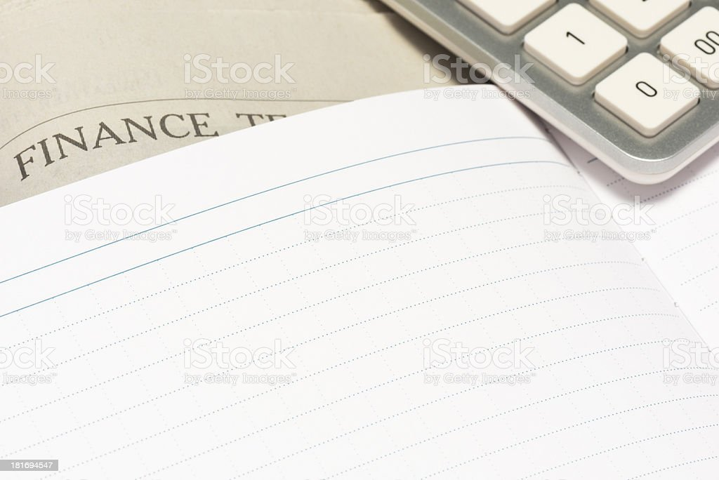 Office supplies. royalty-free stock photo