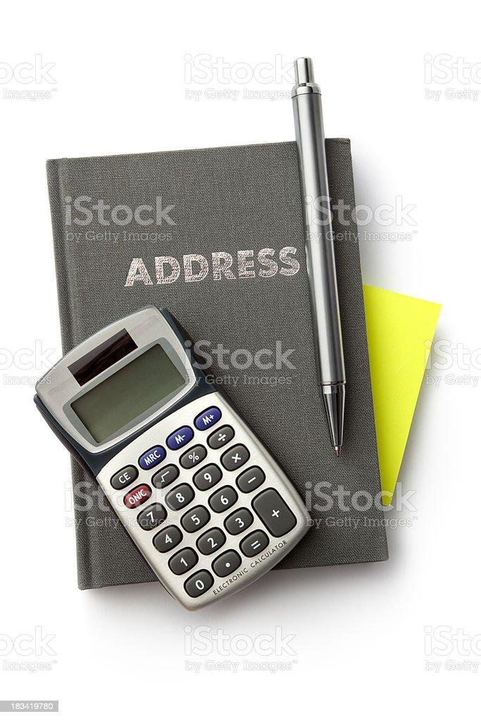 Office: Supplies stock photo